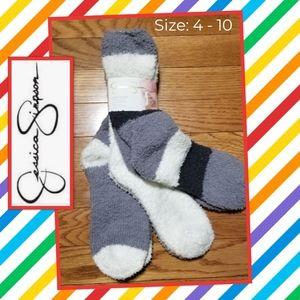 Jessica Simpson (3) Soft As Cloud ☁️ Socks